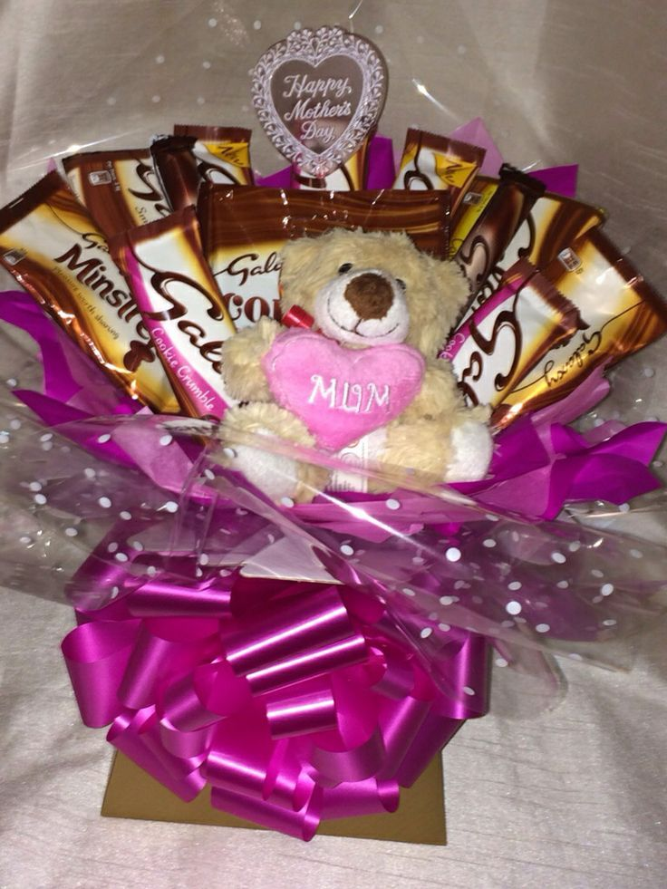 Mother\'s Day Chocolate bouquet | Cards | Pinterest | Chocolate ...