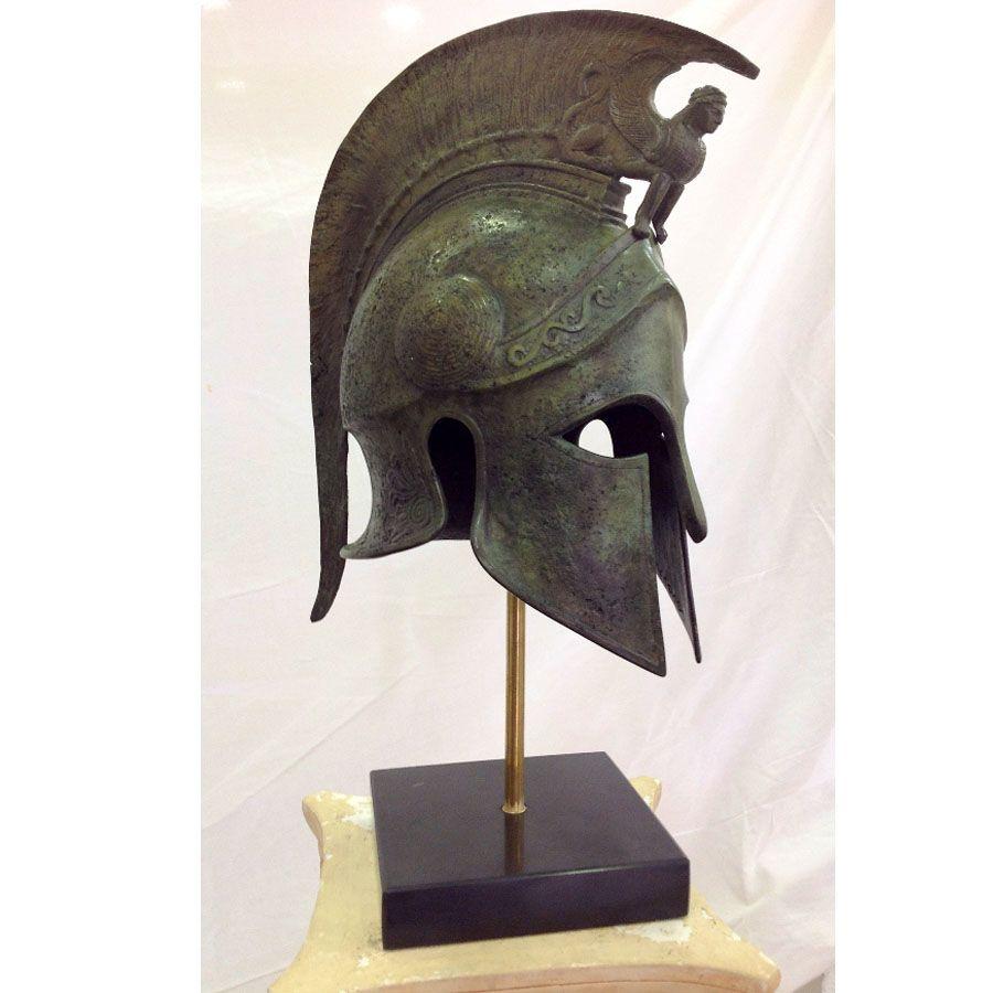 Real greek helmet   Alejandro magno, Casco antiguo, Armaduras