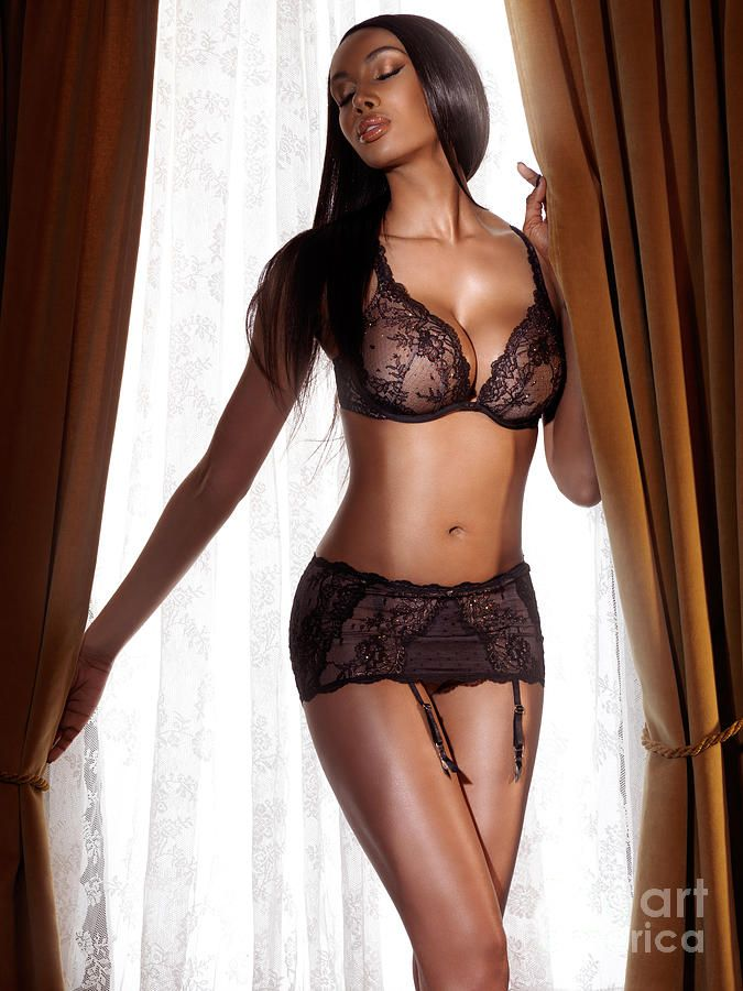 lingerie Black models sexy women