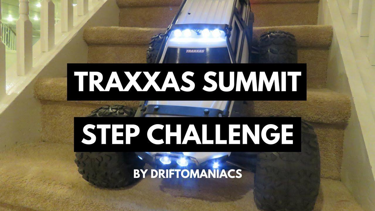 Traxxas Summit Step Descent Challenge! Challenges