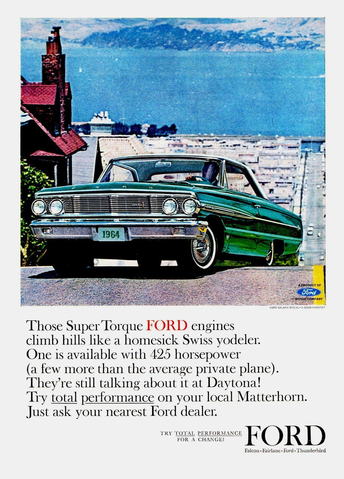 1964 Ford Galaxie 500 Xl 2 Door Hardtop Ford Galaxie Ford Galaxie 500 1964 Ford