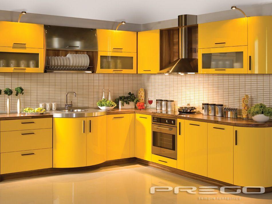 Cozinha Amarela Cozinha Decora 231 227 O Cozinha Cozinha