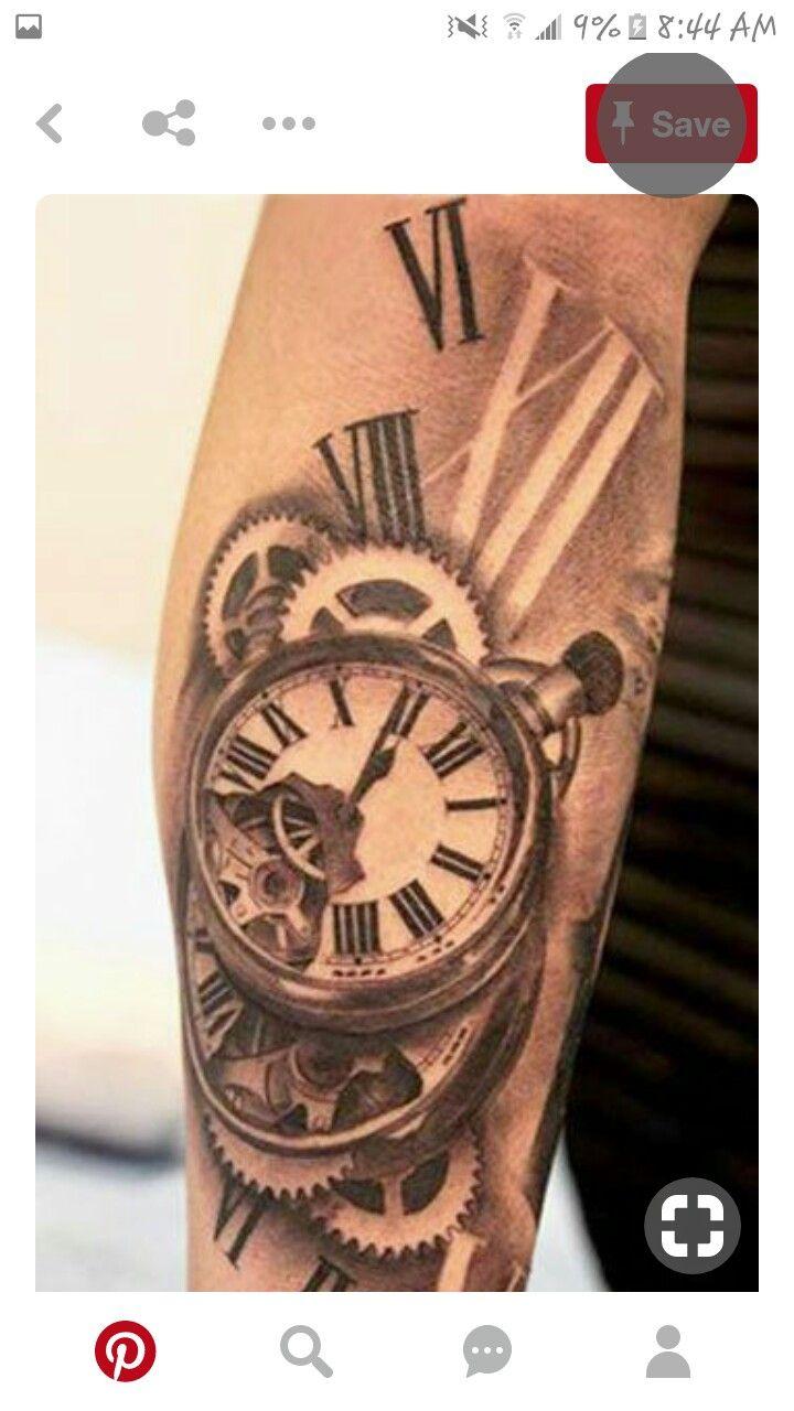 Pin by Jamie Gunter on Tattoo ideas | Time tattoos, Pocket ...