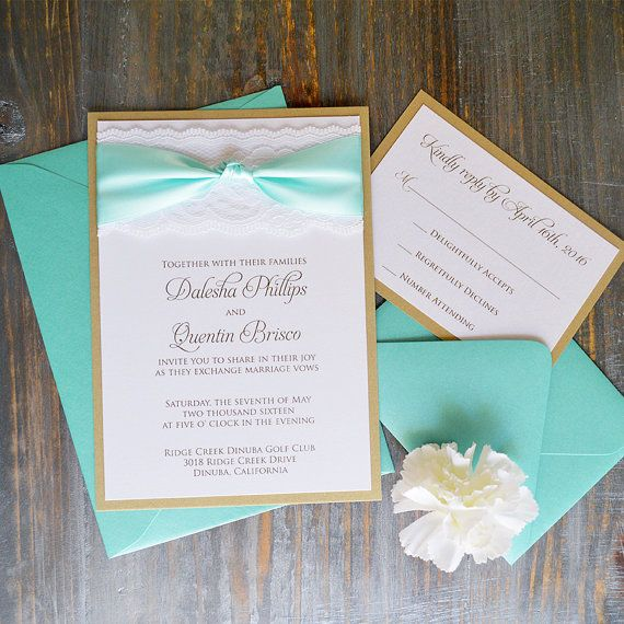 Pin By Anisha On Wedding Invites Simple In 2019: Ivory Lace Wedding Invitation With Pink Blush