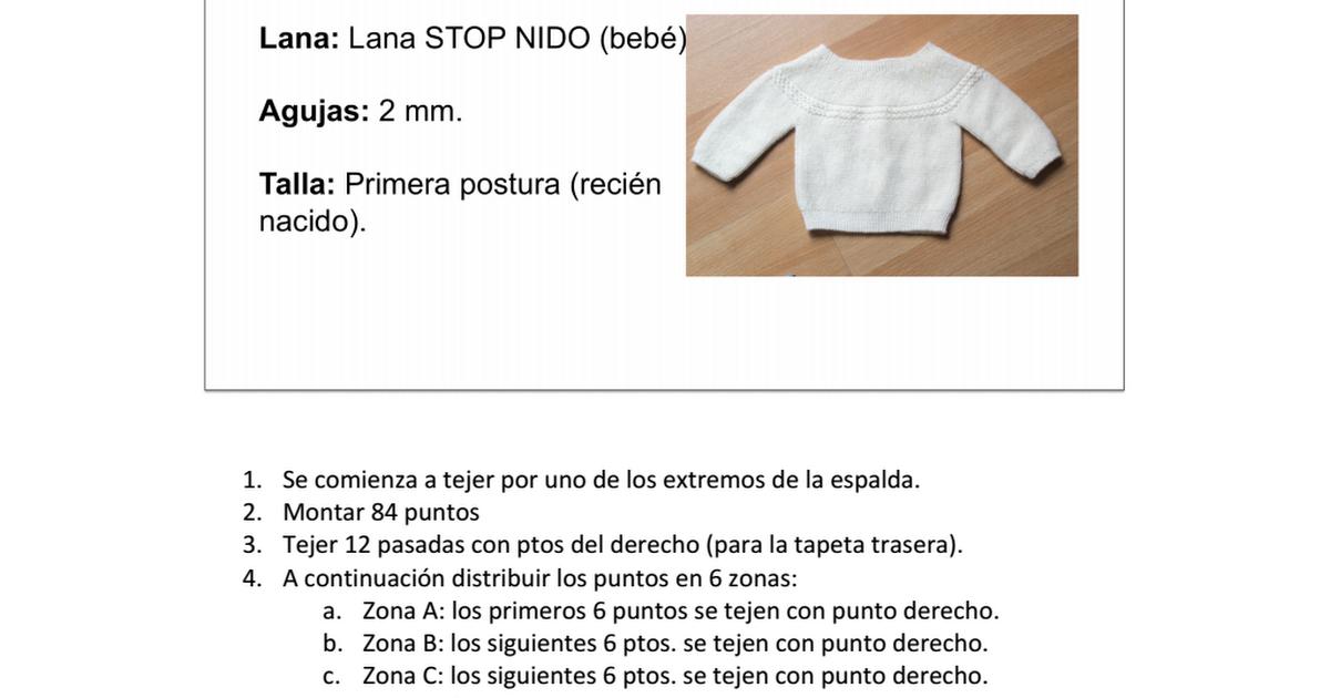 patron completo jersey.pdf | Bebe | Pinterest | Patrones, Bebe y ...