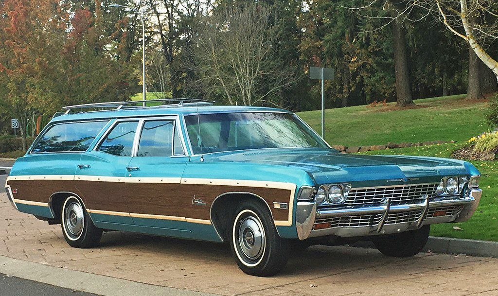 1968 Chevrolet Caprice Estate Wagon Chevrolet Caprice Station Wagon Station Wagon Cars
