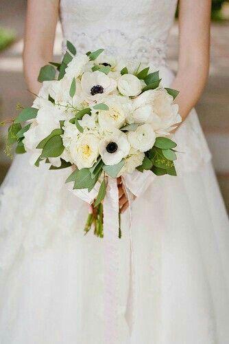 Bouquet Sposa Total White.Bouquet Total White 1 Bouquet Da Sposa Bianco Matrimonio