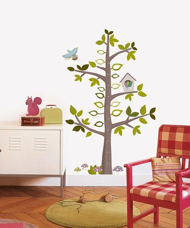 Take a look at this Height Gauge Tree Wall Decal Set by Nouvelles Images on #zulily today!