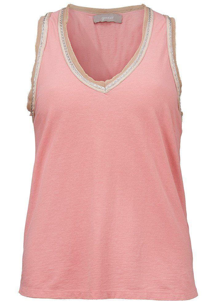 Rosa top 23703 Sleeveless T-shirt - blush