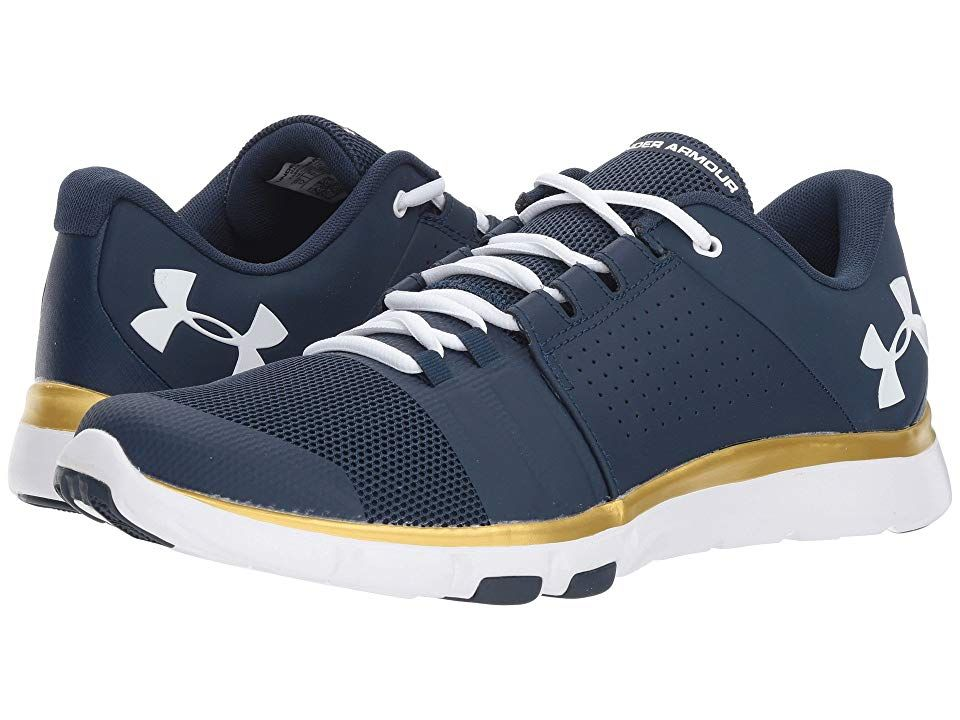 73ba3dbb Under Armour UA Strive 7 NM Men's Shoes Academy/Gold Rush/White ...