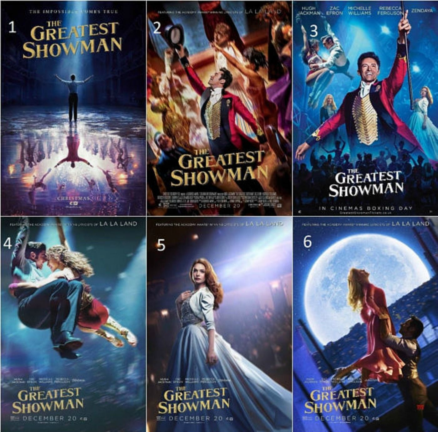 Poster found on Etsy - The Greatest Showman Movie Poster - Michael ...