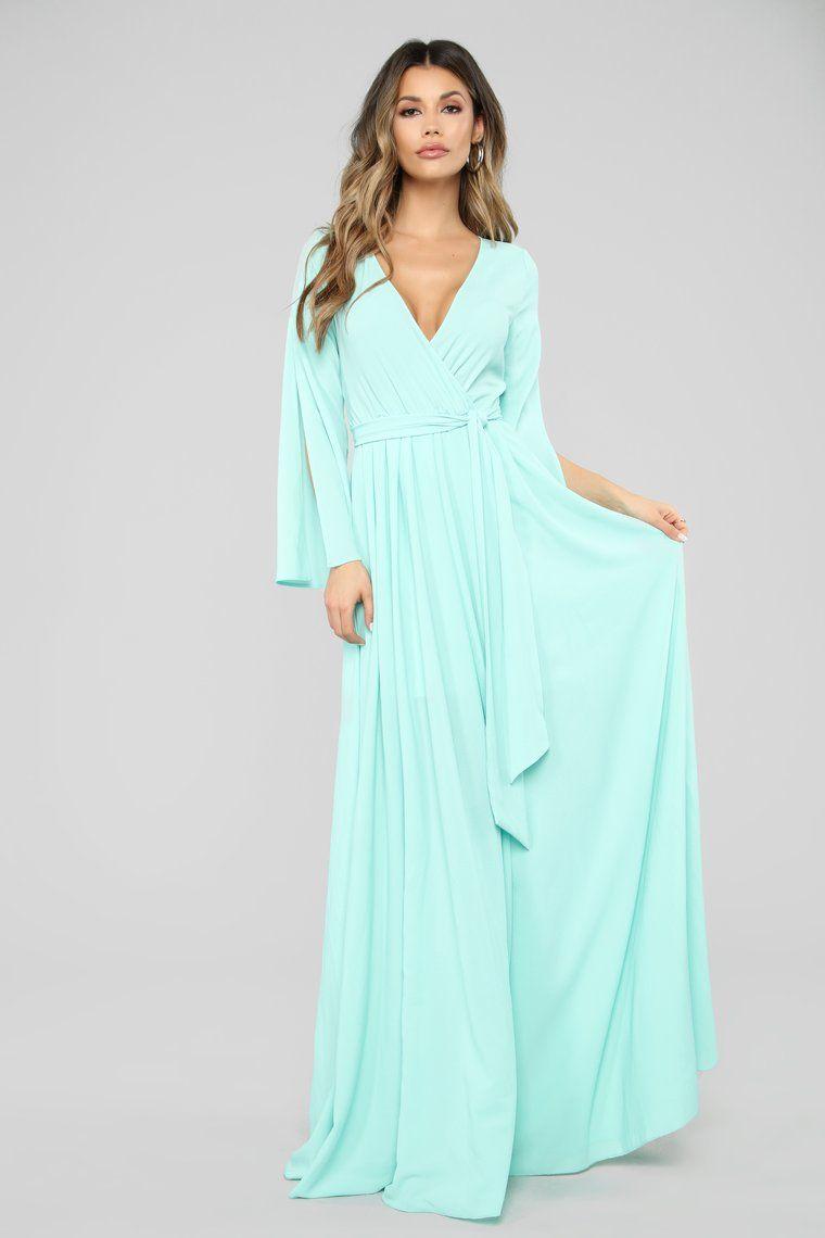 Sweet As Pie Maxi Dress Mint Maxi dress, Fashion nova