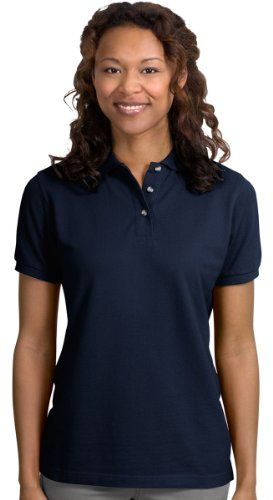 Port Authority - Ladies Pique Knit Sport Shirt. L420 for only $13.49 You save: $48.49 (78%)