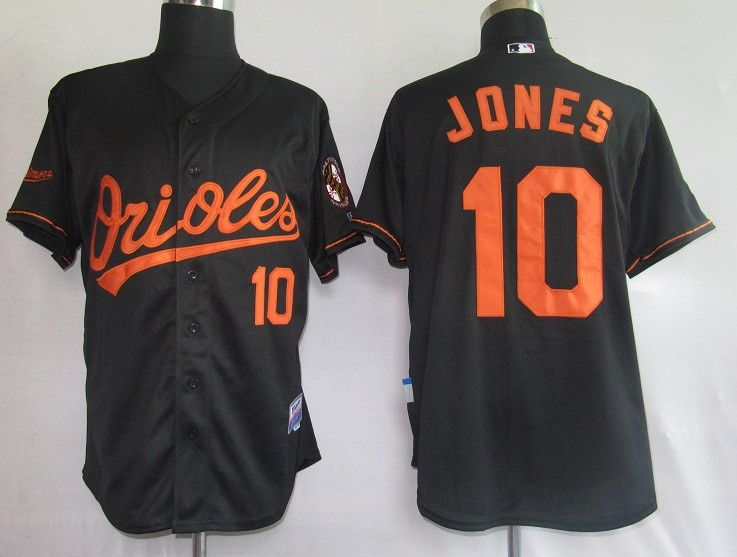 pretty nice 688d8 8d99e $20.00 MLB Jerseys Baltimore Orioles Adam Jones #10 Black ...