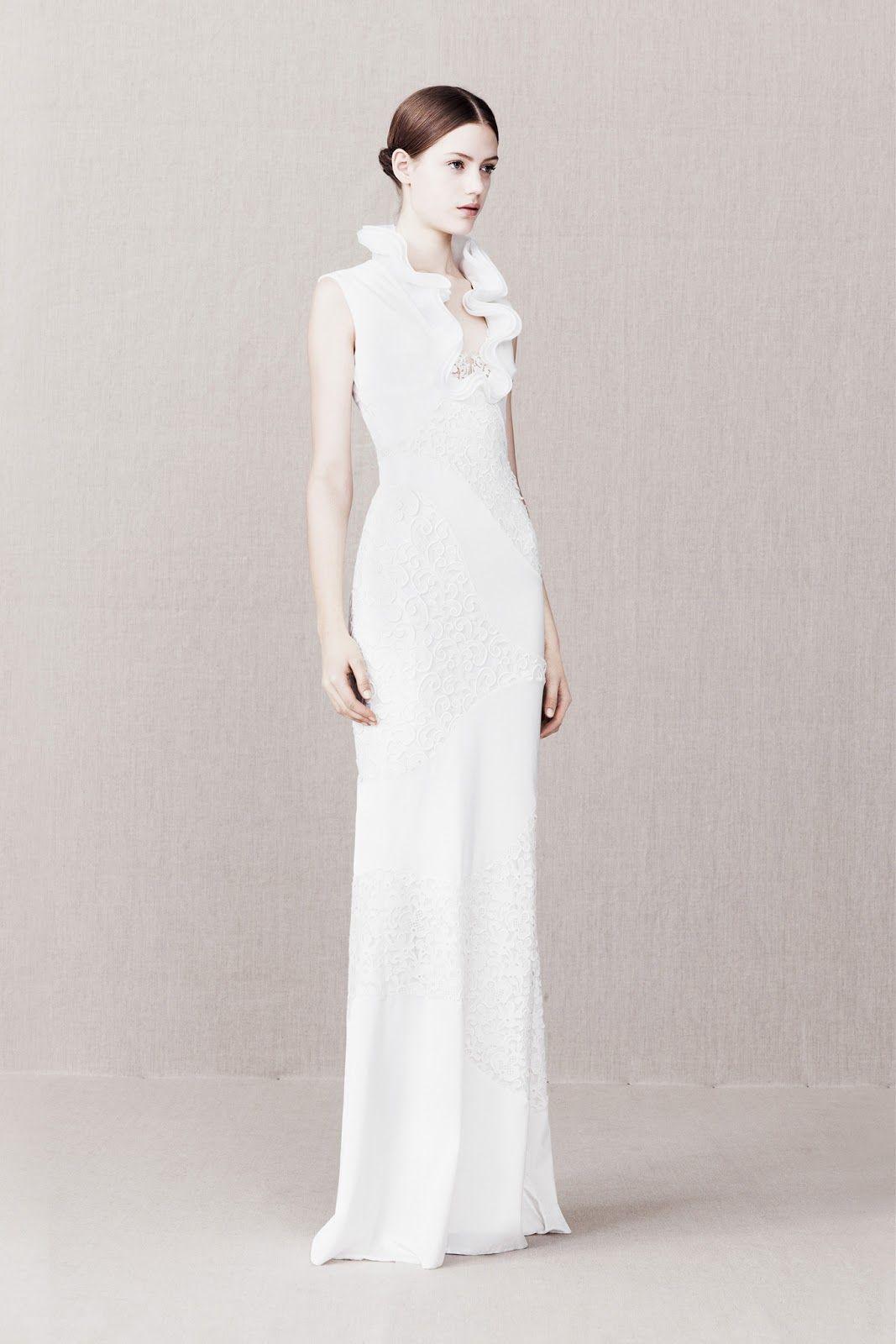 Sarah burton wedding dress  Esther Heesch for Alexander McQueen  dress  Pinterest  Alexander