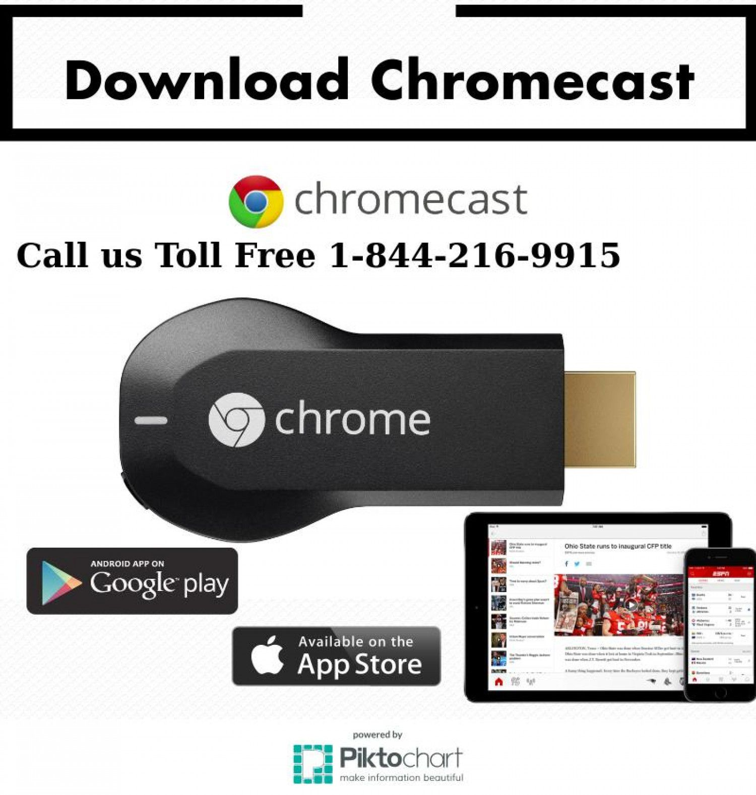 If you are looking to have Chromecast free download, then