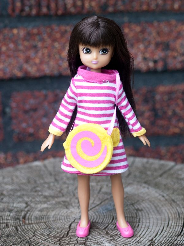 Best fun gift for... Lottie Doll Outfit Raspberry Ripple Clothing Set