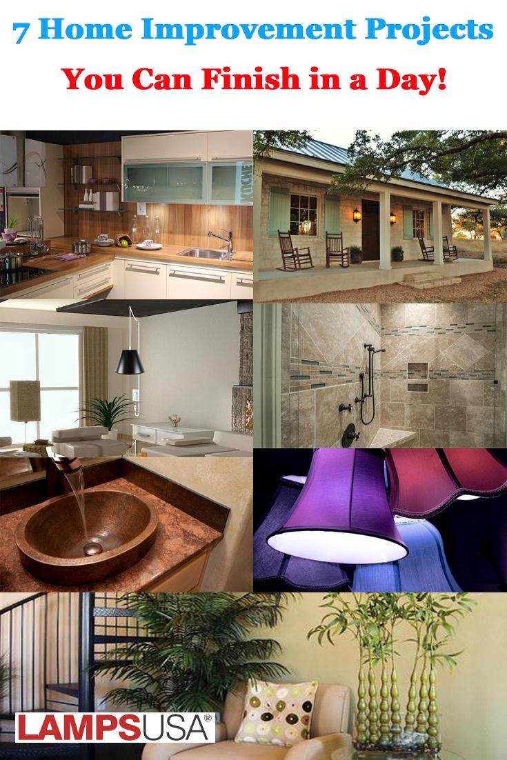 home improvement projects you can finish in  day also best lighting and interior design articles images rh pinterest