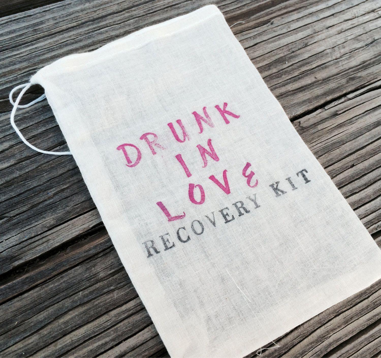 15 Hangover kits, 6x8 recovery kit, bachelorette survival kit ...