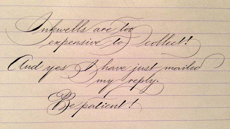 Resultado de imagen para caligrafia hermosa