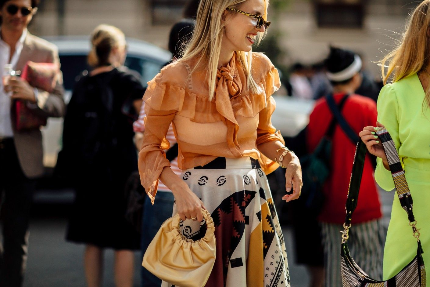 6657673eb5007 The Best Street Style from Milan Fashion Week Spring 2019 - Coveteur