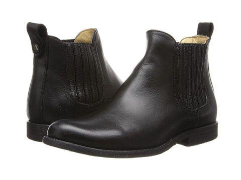 Frye Phillip Chelsea Black Soft Vintage Leather - Zappos.com Free Shipping BOTH Ways