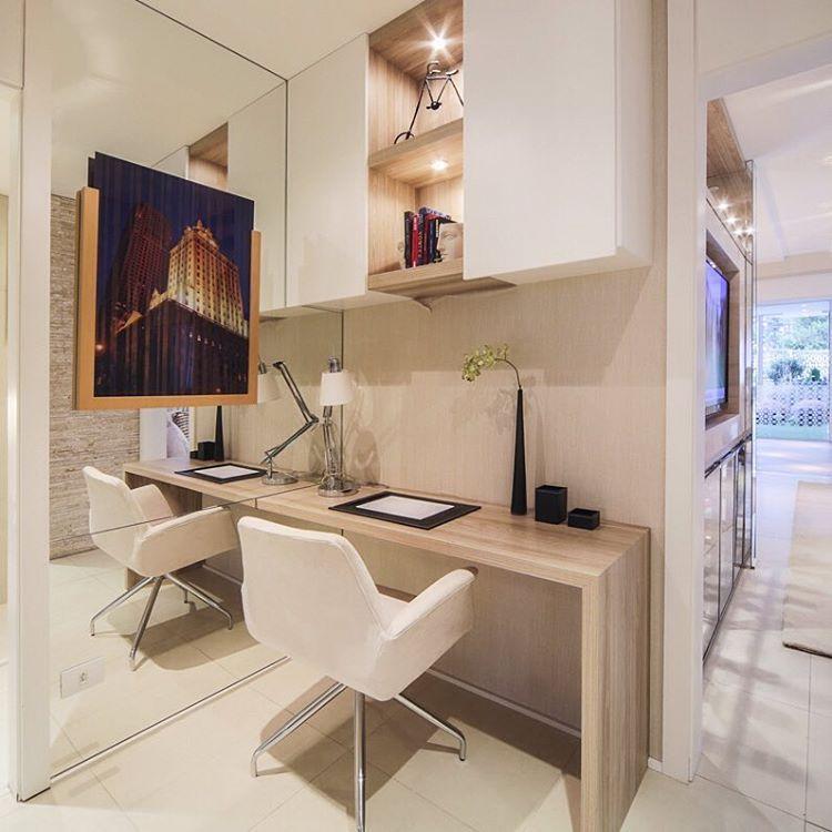 """""""Hall Dos Quartos Usado Como Home Office,otimizando Os"""