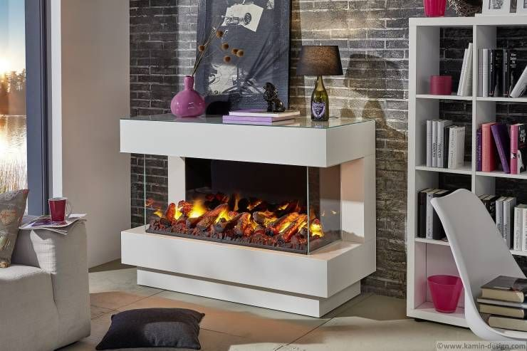 Moderne Kamine - Elektrokamine + Ethanolkamine von Kamin-Design - offene feuerstelle wohnzimmer