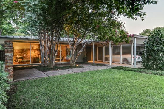 The mid century modern real estate dallas texas above is used allow ...