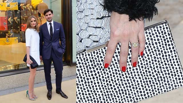 Ordinaire 2014 Celebrity Engagement Rings   Olivia Palermo. Image: Getty