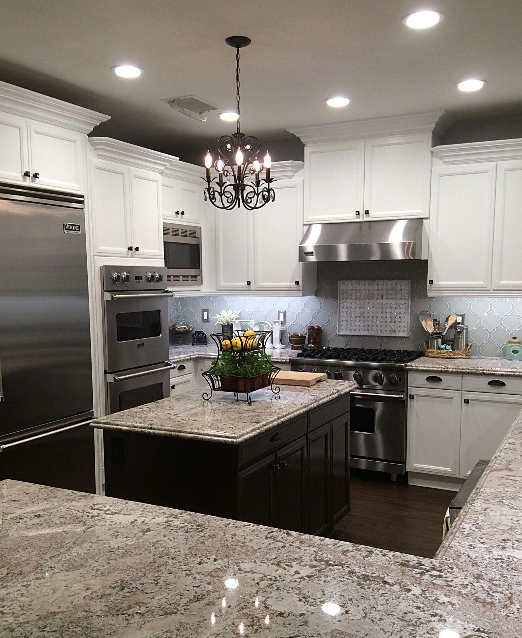 Rustic glam kitchen | Kitchen countertops | Pinterest | Cocinas ...