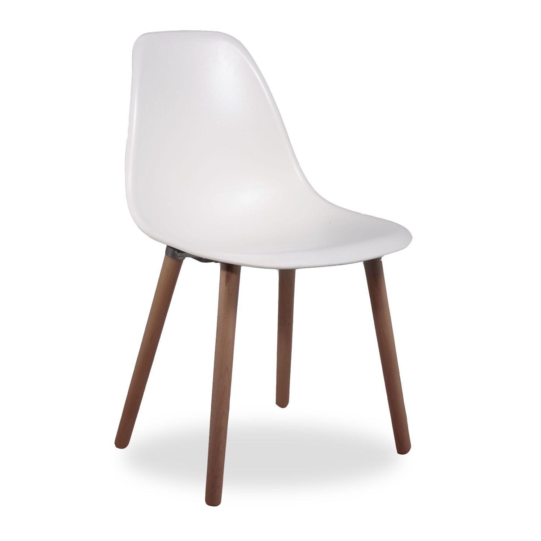 Inspiriert an den Tower-Designs.     Sitz aus ABS gefertigt.     4 Beine aus Buchenholz.  Der Stuhl SIMPLE TOWER WOOD präsentiert sich als eine ungezwungene und jugendliche Version der berühmten Stühle im Tower-Design. Anstatt die Beine mit leichter Neigung und mittels Metallringe zusammen zu machen, hat man sich für eine formellere Lösung entschieden: 4 Beine von stärkerer Dicke, die mittels einer viereckigen Verbindung am Sitz festgemacht wurden, um ihm die notwendige Stabilität zu ver...