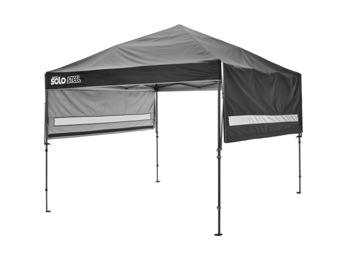 Solo Steel Straight Leg Pop Up Canopy Tent With Awning Pop Up Canopy Tent Canopy