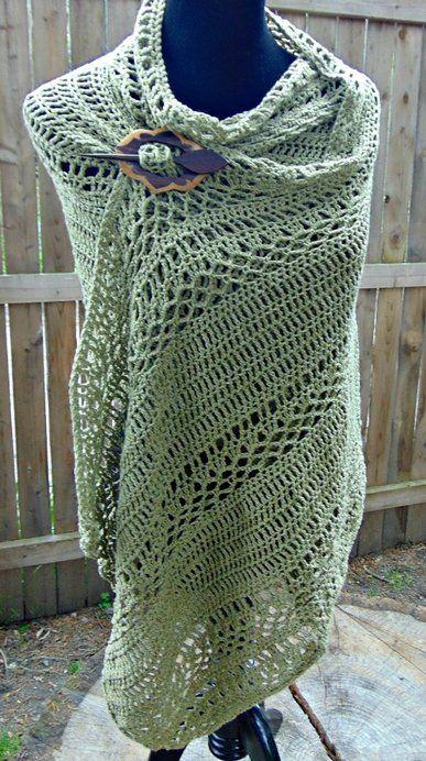 Milan Summer Wrap - Free Crochet Pattern | Pinterest | Tücher ...