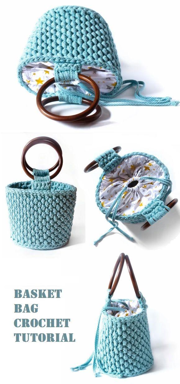 Crochet Easy Bags #bags