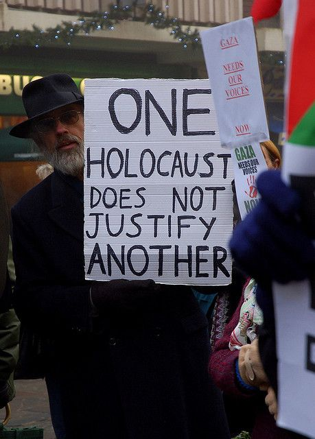 One Holocaust does not justify another