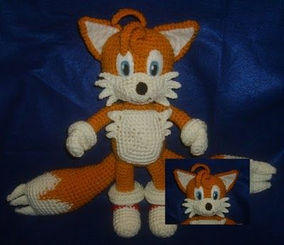 Tails from Sonic the Hedgehog games. Click here for the free fox ...