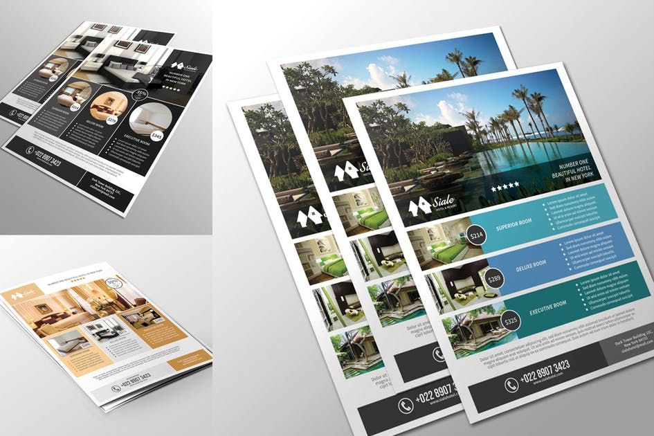 Hotel Flyer Template By Aarleykaiven On Flyer Template Hotel