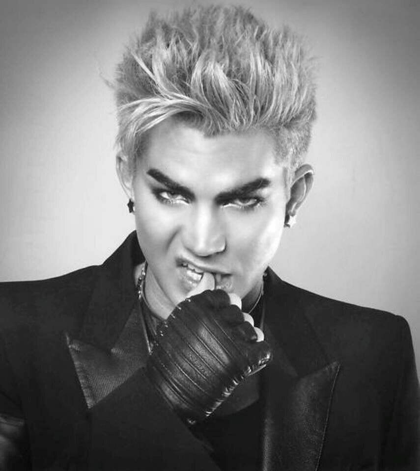 Blonde Adam Lambert Glam He S So Glam Hot Adam Lambert