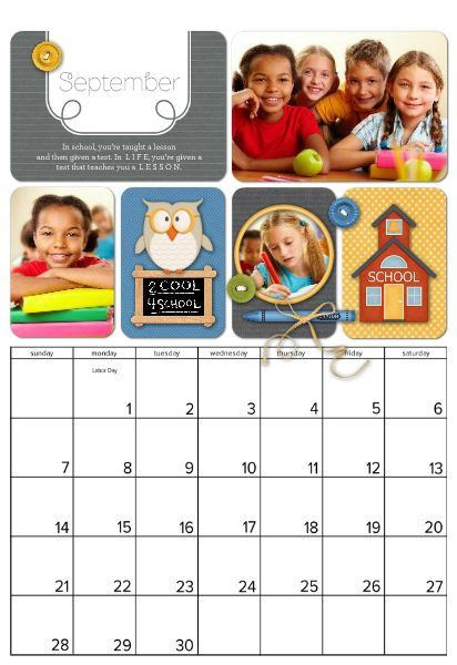 2014 Family Holiday Calendar Template ~FREE PriNtAbLe Tags - holiday calendar template