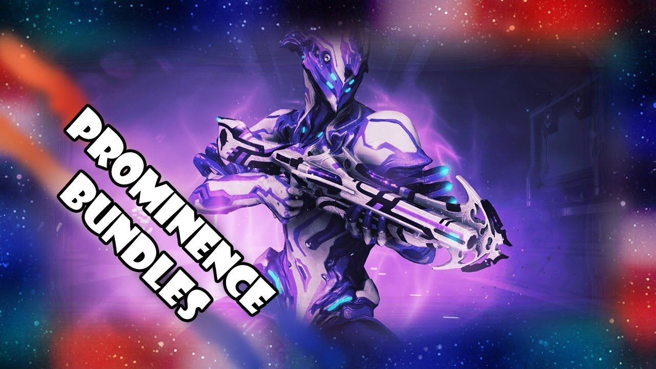 Twitch Prominence Bundles I & II Available | warframe | Master chief