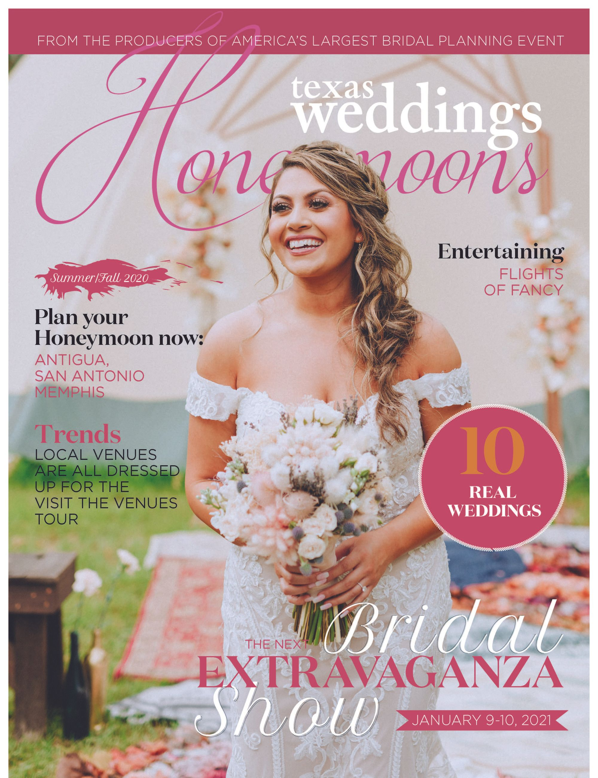 Check out our ad in the new edition of Texas Weddings Magazine. We are…