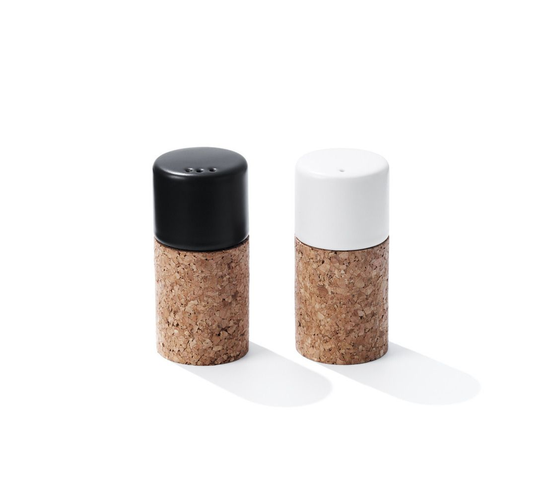 Moderne Küchenutensilien: Normann Copenhagen 58° N Salt & Pepper Set