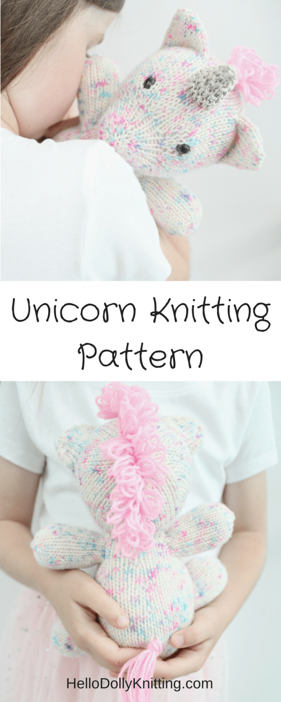 Sprinkles the Unicorn PDF Knitting Pattern | Knit & Purl | Pinterest ...