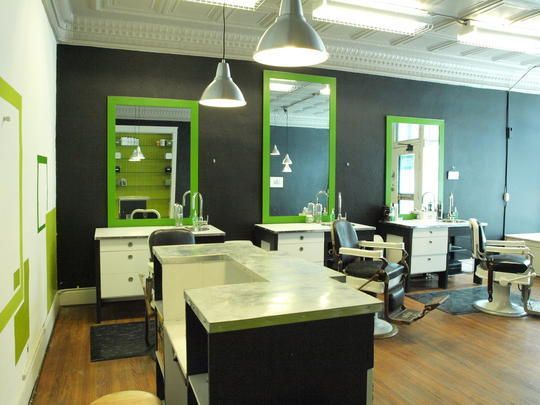 Beautiful Barber Themes Interior