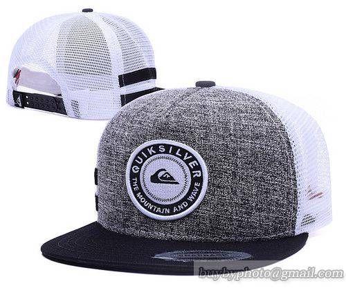 QUIKSILVER Mesh Snapback Hats Quick-drying cap 007  1afd7e4942e