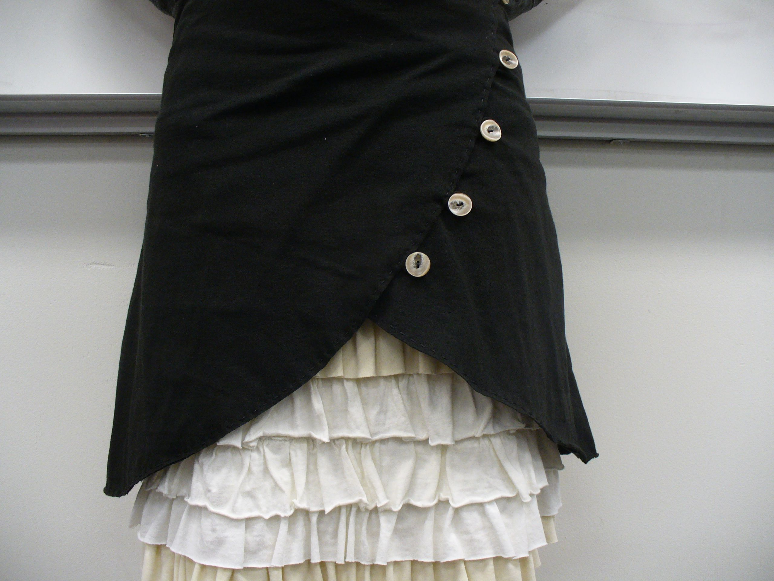 the over skirt | alte Jeans, Rock und Nähen