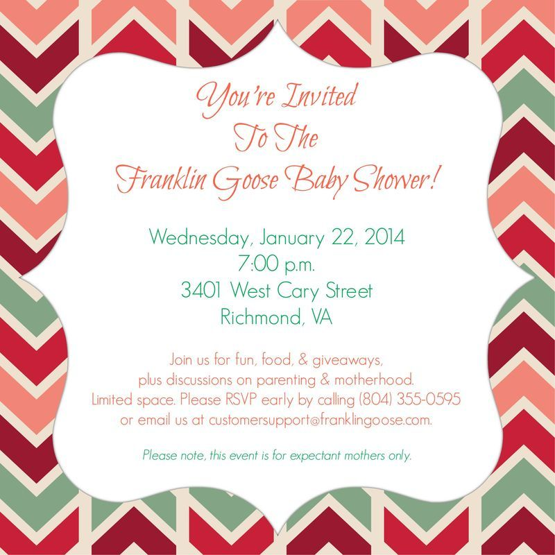 You Are Cordially Invited To Our Bi Annual Franklin Goose