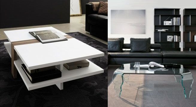 Mesas De Centro Para Salones Pequenos Revista Muebles Mobiliario - Mesas-para-salones-pequeos