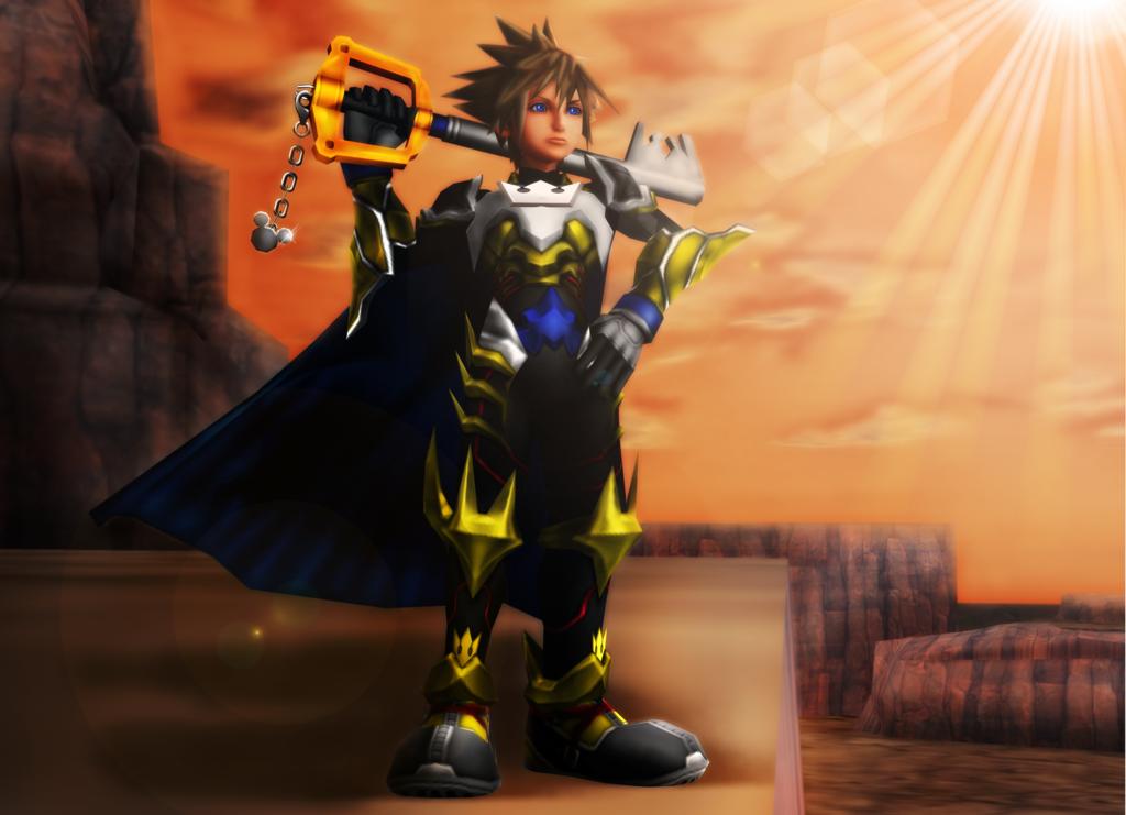 Kingdom Hearts Xion by 9029561 on DeviantArt